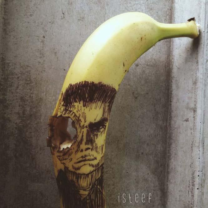 Τέχνη με μπανάνες από τον Stephan Brusche (17)