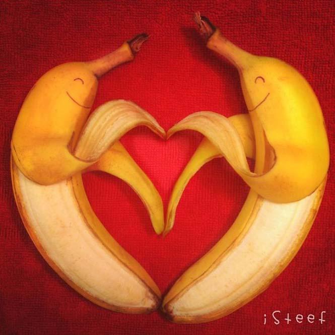 Τέχνη με μπανάνες από τον Stephan Brusche (19)