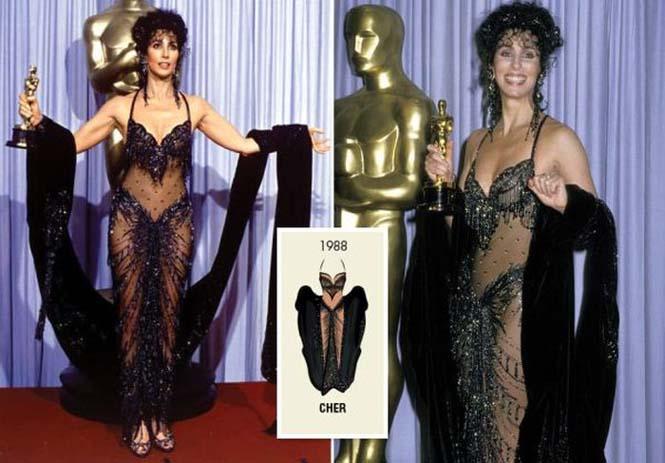 Τι φόρεσαν οι γυναίκες που κέρδισαν το Oscar από το 1929 μέχρι σήμερα (7)
