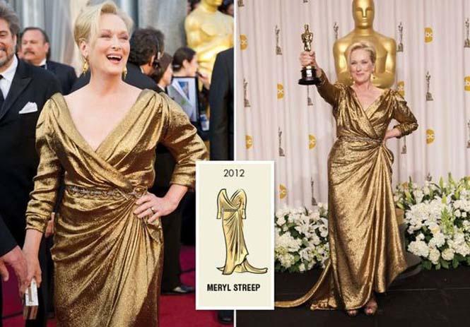 Τι φόρεσαν οι γυναίκες που κέρδισαν το Oscar από το 1929 μέχρι σήμερα (12)