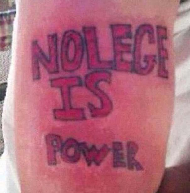 Μα τι σκεφτόντουσαν; 24 τραγικά τατουάζ που θα μείνουν για μια ζωή! (3)