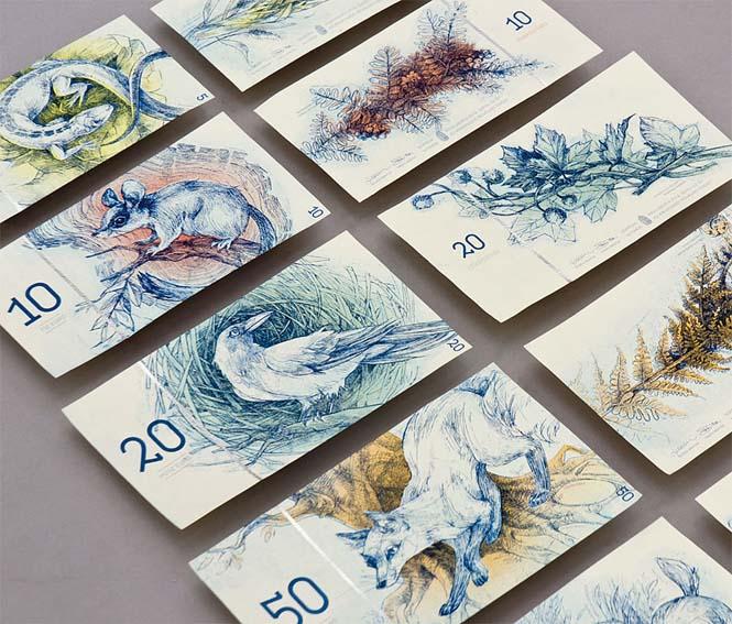 Πως θα ήταν τα χαρτονομίσματα του ευρώ αν τα σχεδίαζε μια φοιτήτρια από την Ουγγαρία (5)