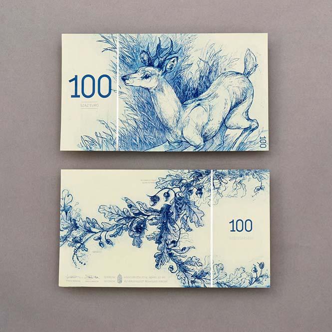Πως θα ήταν τα χαρτονομίσματα του ευρώ αν τα σχεδίαζε μια φοιτήτρια από την Ουγγαρία (7)