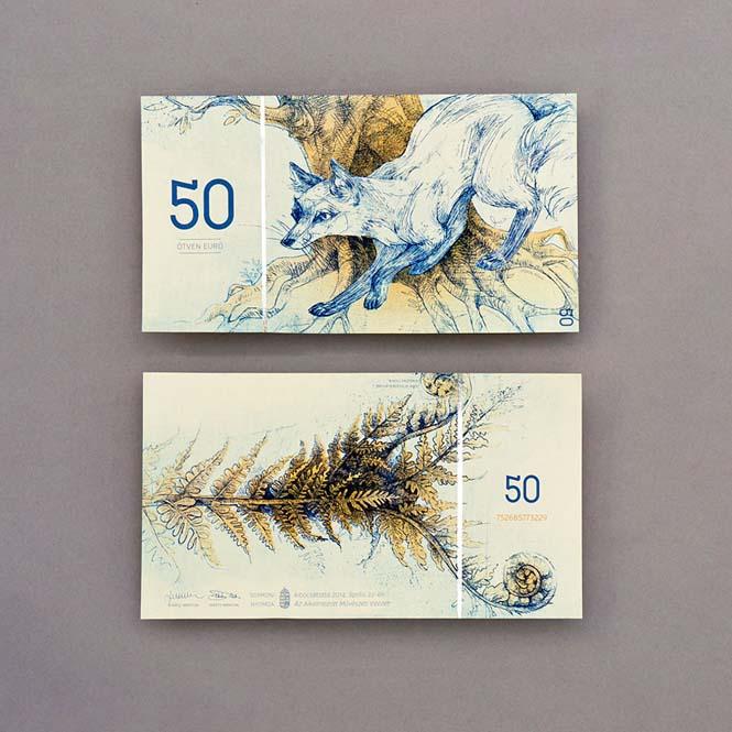 Πως θα ήταν τα χαρτονομίσματα του ευρώ αν τα σχεδίαζε μια φοιτήτρια από την Ουγγαρία (8)