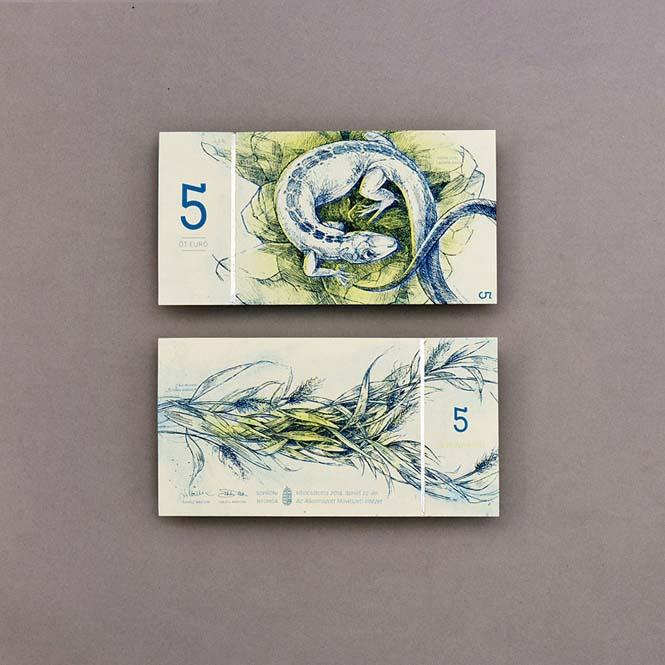 Πως θα ήταν τα χαρτονομίσματα του ευρώ αν τα σχεδίαζε μια φοιτήτρια από την Ουγγαρία (9)