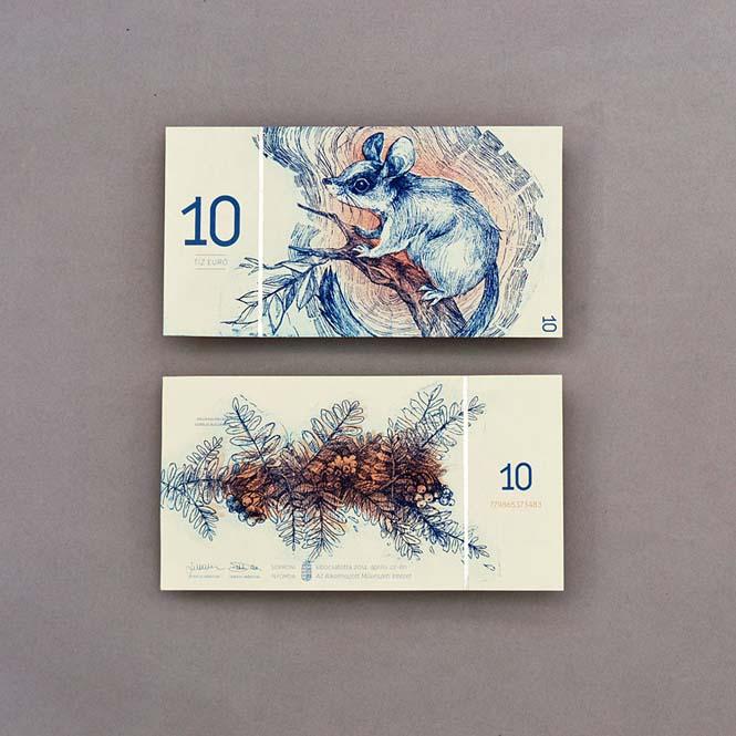 Πως θα ήταν τα χαρτονομίσματα του ευρώ αν τα σχεδίαζε μια φοιτήτρια από την Ουγγαρία (10)