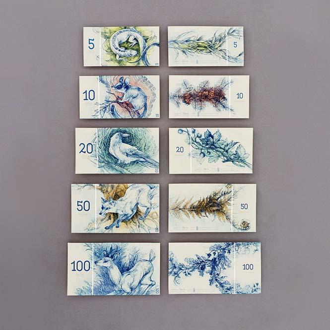 Πως θα ήταν τα χαρτονομίσματα του ευρώ αν τα σχεδίαζε μια φοιτήτρια από την Ουγγαρία (11)