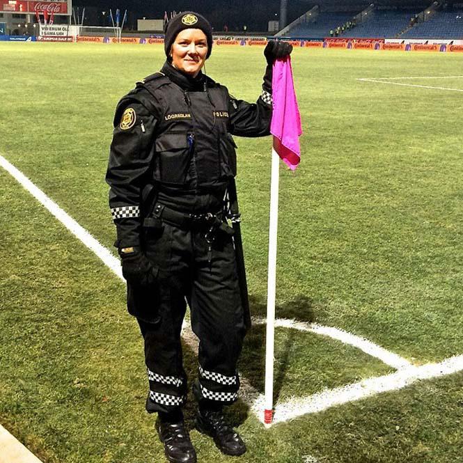 Η «παραμυθένια» ζωή των αστυνομικών στην Ισλανδία (4)