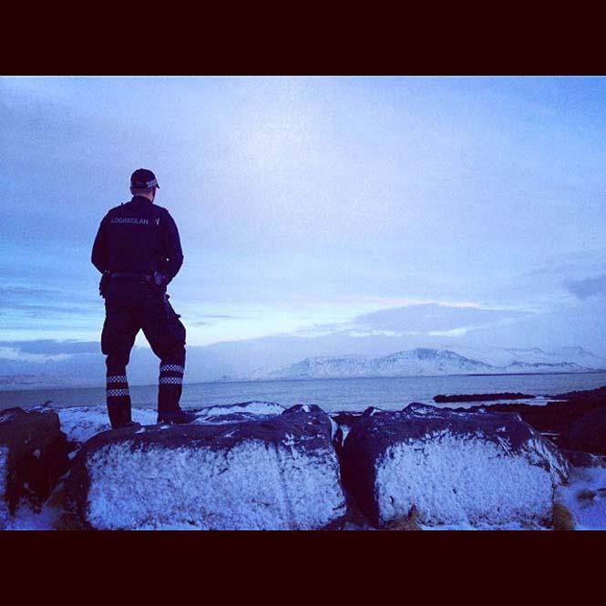 Η «παραμυθένια» ζωή των αστυνομικών στην Ισλανδία (10)
