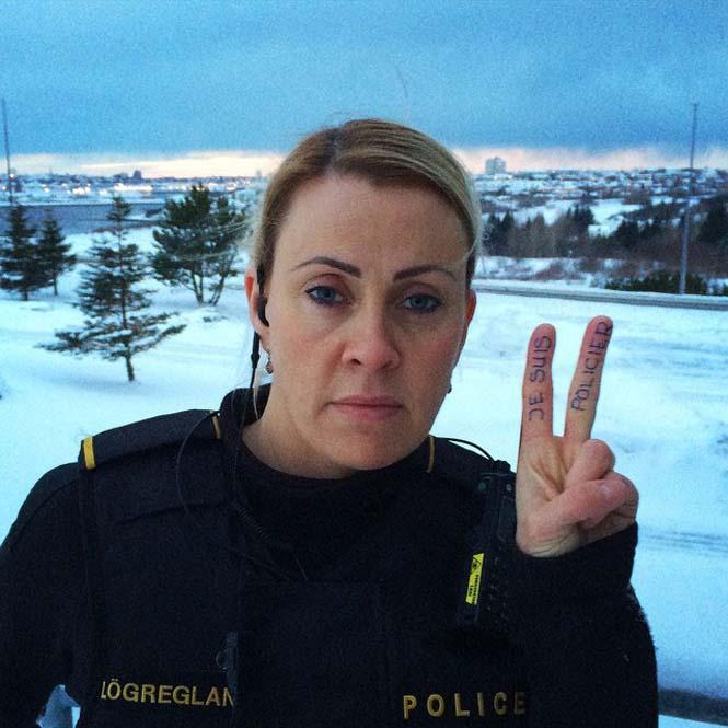 Η «παραμυθένια» ζωή των αστυνομικών στην Ισλανδία (11)