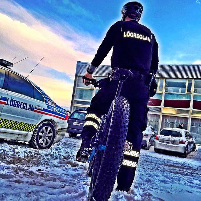 Η «παραμυθένια» ζωή των αστυνομικών στην Ισλανδία (12)