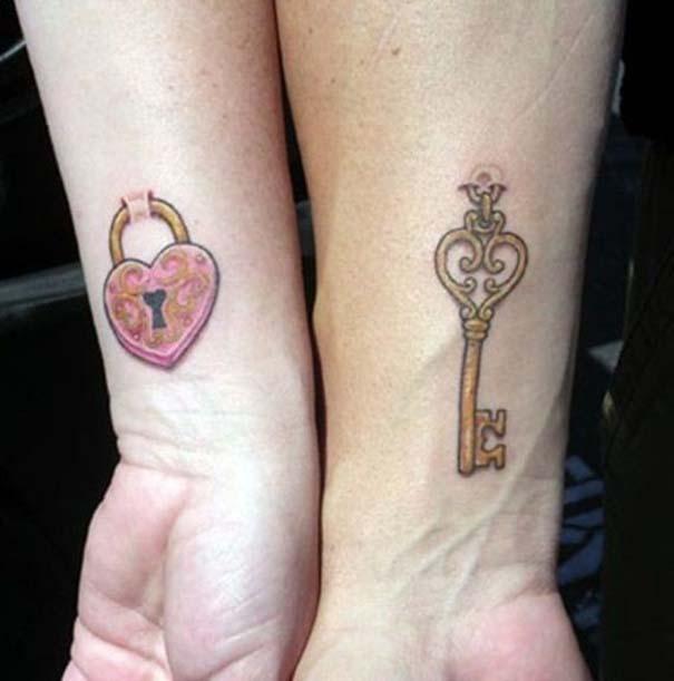 33 ζευγάρια που ενώθηκαν με ένα πρωτότυπο ή παράξενο τατουάζ (3)