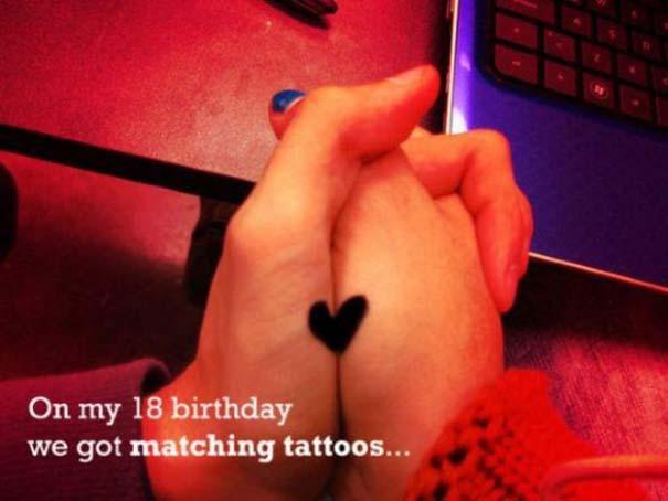 33 ζευγάρια που ενώθηκαν με ένα πρωτότυπο ή παράξενο τατουάζ (17)