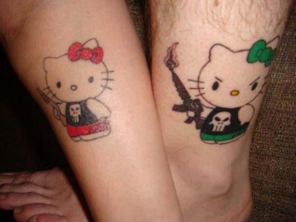 33 ζευγάρια που ενώθηκαν με ένα πρωτότυπο ή παράξενο τατουάζ (18)