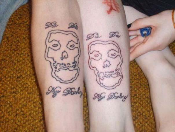 33 ζευγάρια που ενώθηκαν με ένα πρωτότυπο ή παράξενο τατουάζ (24)
