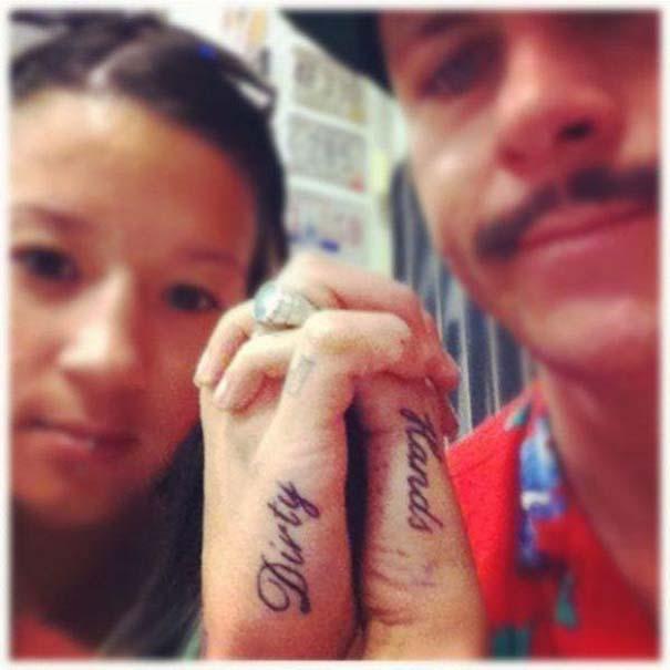 33 ζευγάρια που ενώθηκαν με ένα πρωτότυπο ή παράξενο τατουάζ (33)