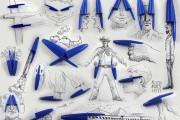 3D σκίτσα με καθημερινά αντικείμενα από τον Victor Nunez (1)
