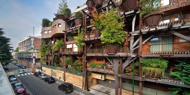 5όροφο δενδρόσπιτο μέσα στην πόλη (1)