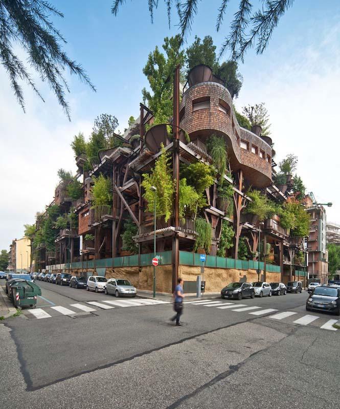5όροφο δενδρόσπιτο μέσα στην πόλη (3)