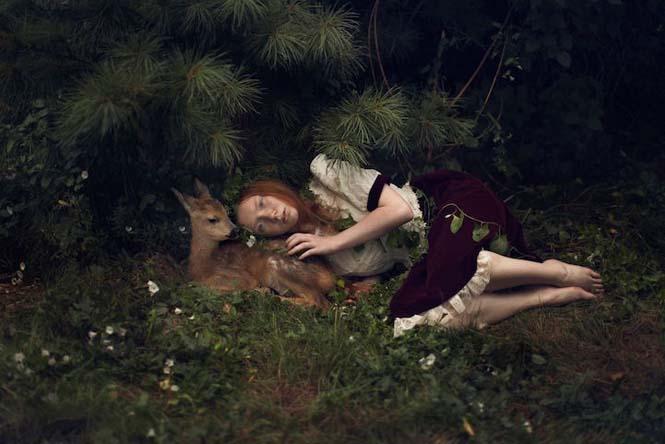Φωτογράφος βγάζει πραγματικά απίστευτα πορτραίτα χρησιμοποιώντας αληθινά ζώα (10)