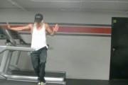 Απίθανο χορευτικό πάνω σε διάδρομο γυμναστικής