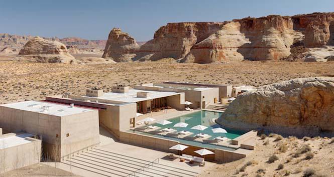 Απόδραση σε ένα εντυπωσιακό ξενοδοχείο στην μέση της ερήμου (1)
