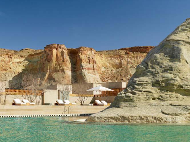 Απόδραση σε ένα εντυπωσιακό ξενοδοχείο στην μέση της ερήμου (2)