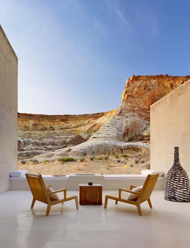 Απόδραση σε ένα εντυπωσιακό ξενοδοχείο στην μέση της ερήμου (3)