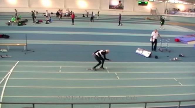 Ο Charles Eugster έκανε παγκόσμιο ρεκόρ τρέχοντας τα 200 μέτρα σε λιγότερο από 1 λεπτό