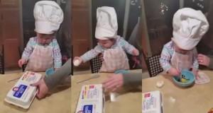 Η μικρή σεφ 16 μηνών που εντυπωσίασε το Internet (Video)