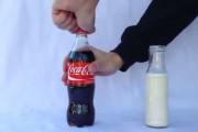 Coca Cola και γάλα