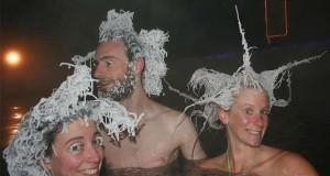 Διαγωνισμός παγώματος μαλλιών