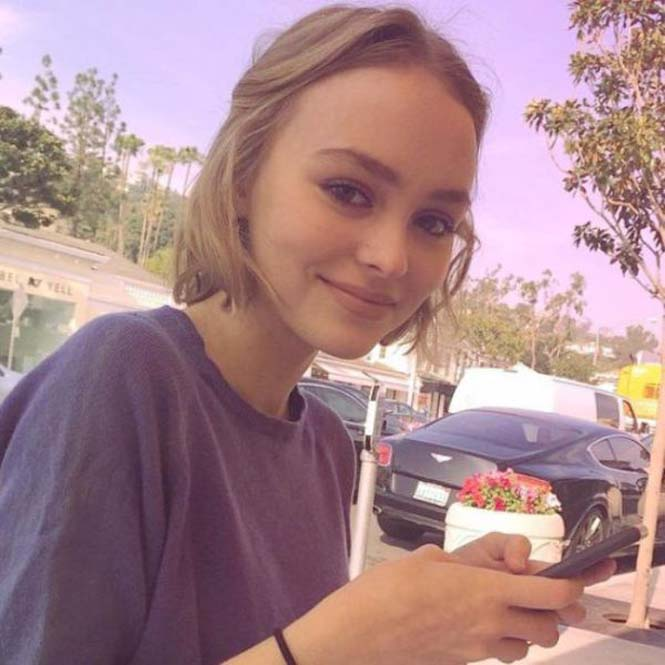 Η έφηβη κόρη του Johnny Depp (2)