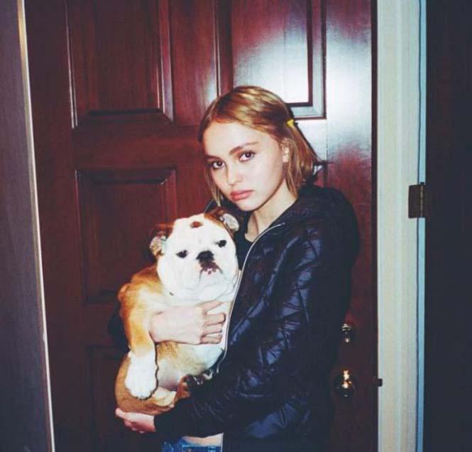 Η έφηβη κόρη του Johnny Depp (17)