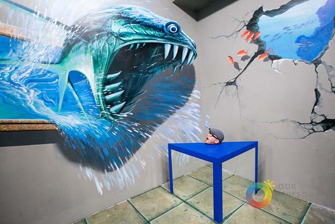 Έκθεση 3D τέχνης σου επιτρέπει να γίνεις μέρος των έργων (3)