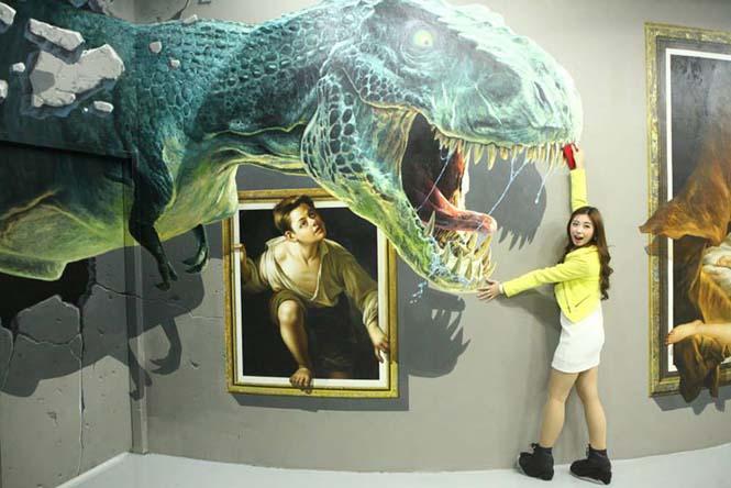 Έκθεση 3D τέχνης σου επιτρέπει να γίνεις μέρος των έργων (12)