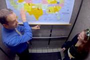 Φαρσέρ μετέτρεψε ένα ασανσέρ σε δελτίο πρόγνωσης καιρού