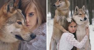 Φωτογράφος συνεχίζει να δημιουργεί απίστευτα πορτραίτα χρησιμοποιώντας αληθινά άγρια ζώα