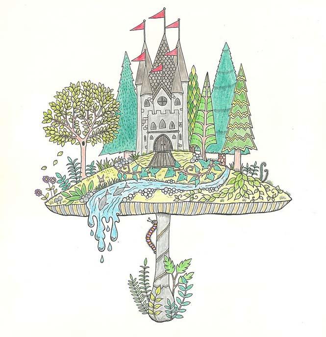 Καλλιτέχνις δημιούργησε βιβλία χρωματισμού για ενήλικες και πούλησε ένα εκατομμύριο αντίτυπα (10)