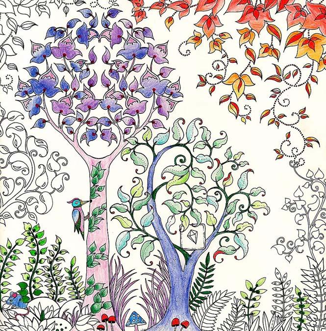Καλλιτέχνις δημιούργησε βιβλία χρωματισμού για ενήλικες και πούλησε ένα εκατομμύριο αντίτυπα (11)