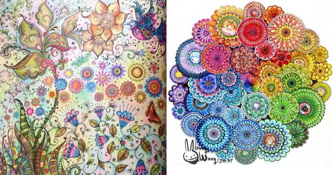 Καλλιτέχνις δημιούργησε βιβλία χρωματισμού για ενήλικες και πούλησε ένα εκατομμύριο αντίτυπα (12)