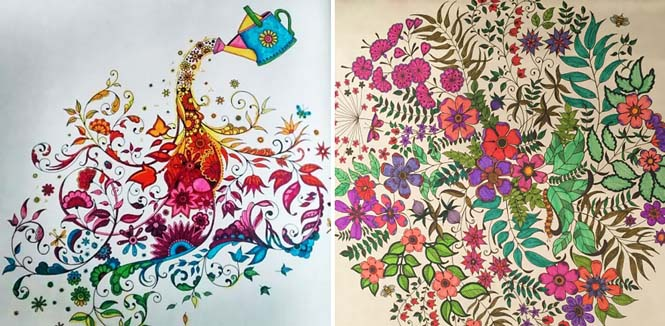 Καλλιτέχνις δημιούργησε βιβλία χρωματισμού για ενήλικες και πούλησε ένα εκατομμύριο αντίτυπα (15)