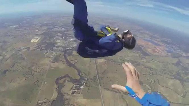 Κρίση επιληψίας κατά την διάρκεια Skydiving