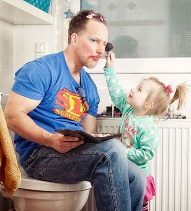 Μπαμπάδες που δεν μπορούν να πουν όχι στις κόρες τους (7)