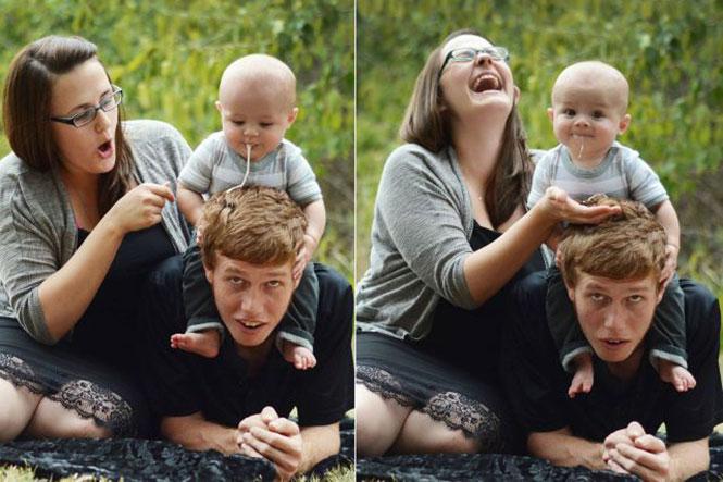 Οικογενειακή φωτογράφηση με απρόοπτο   Φωτογραφία της ημέρας