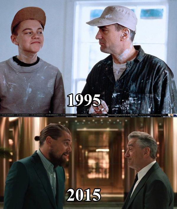 Δυο σπουδαίοι ηθοποιοί πριν από 20 χρόνια και σήμερα   Φωτογραφία της ημέρας