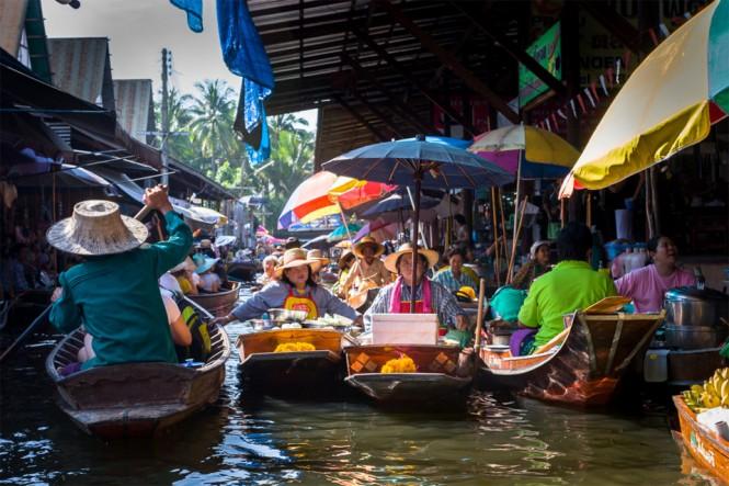Πλωτή αγορά στην Ταϊλάνδη | Φωτογραφία της ημέρας