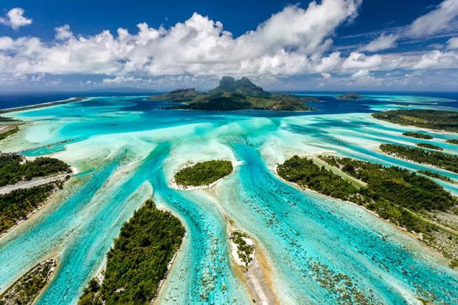 Τα Bora Bora από ψηλά | Φωτογραφία της ημέρας