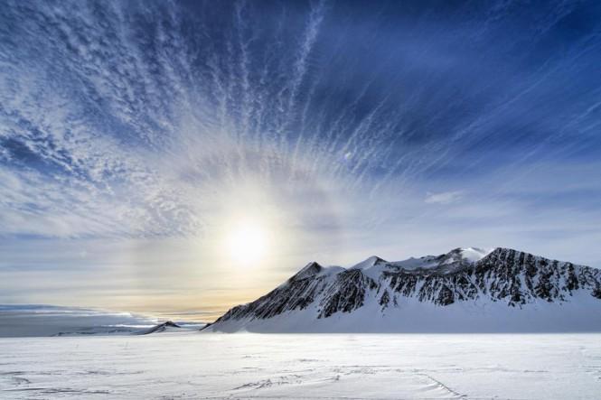Ανατολή ηλίου στην Ανταρκτική | Φωτογραφία της ημέρας