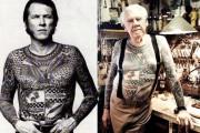 Πως φαίνονται τα τατουάζ όταν γερνάμε (1)
